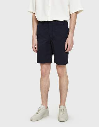 Norse Projects Aros Light Twill Shorts in Dark Navy