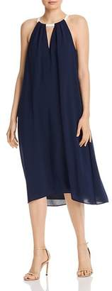 Adrianna Papell Color-Block Trapeze Dress