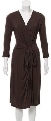 Max Mara Midi Surplice Dress w/ Tags