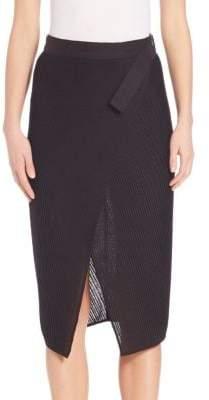 Zero Maria Cornejo Lisse Wrap Skirt