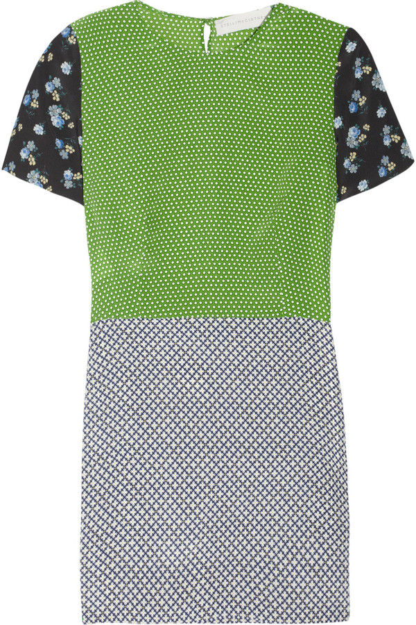 Stella McCartney Hopper printed silk mini dress