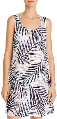 J Valdi Lattice Back Dress Swim Cover-Up
