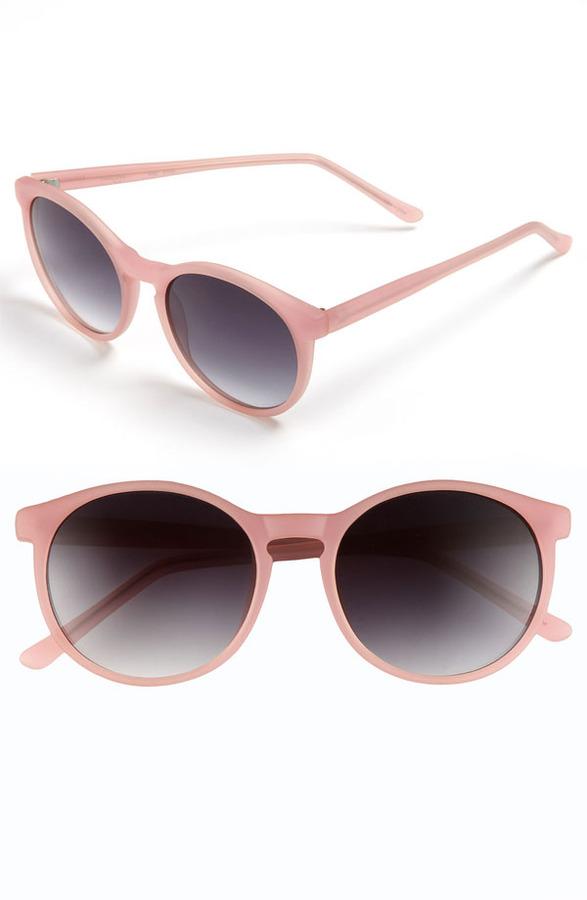 Halogen Retro 52mm Sunglasses
