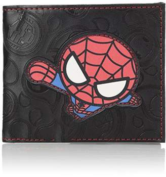 Marvel Men's Slimfold Wallet in Collectible Tin Box