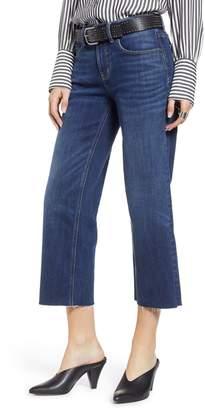 Treasure & Bond Shelter Crop Wide Leg Jeans