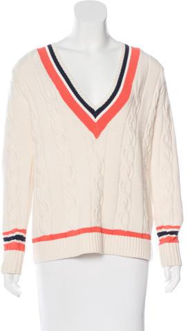 3.1 Phillip Lim3.1 Phillip Lim Cashmere-Blend Cable Knit Sweater