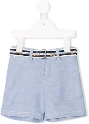 Ralph Lauren Kids belted casual shorts
