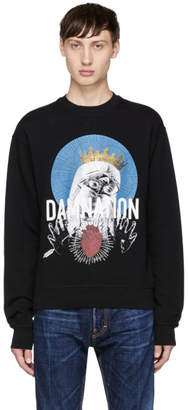 DSQUARED2 Black Damnation Sweatshirt
