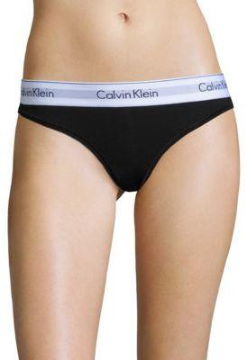 Calvin Klein Underwear Modern Cotton Bikni $20 thestylecure.com