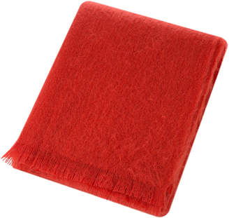 Bronte By Moon Bronte by Moon - Mohair Throw - Flame