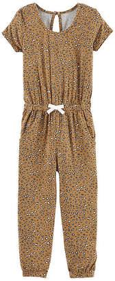 Carter's Animal Jumpsuit - Toddler Girls Long Sleeve Jumpsuit - Toddler