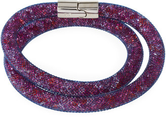 Swarovski Stardust Convertible Crystal Mesh Bracelet/Choker, Light Purple Multi, Medium $60 thestylecure.com
