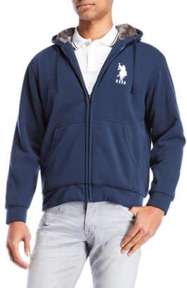 U.S. Polo Assn. Fleece-Lined Zip Hoodie