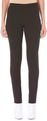 Carolina Herrera Side-Zip Skinny-Leg Wool-Blend Pants