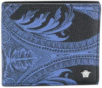 Versace foldover Baroccoflage wallet