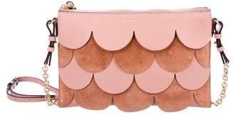 Burberry Peyton Scalloped Crossbody Bag