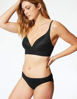 Marks and Spencer Sumptously Soft Longline Crossover Padded Plunge Bra A-E