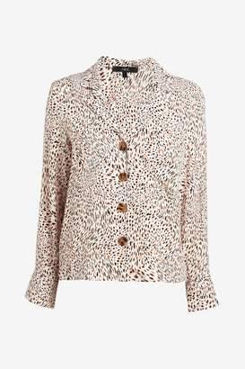 Next Womens White Revere Collar Shirt