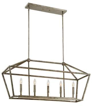 Laurèl Foundry Modern Farmhouse Freemont 5-Light Kitchen Island Pendant