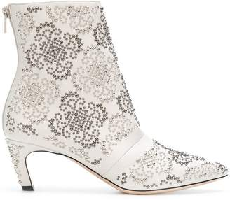 Marc Ellis studded ankle boots