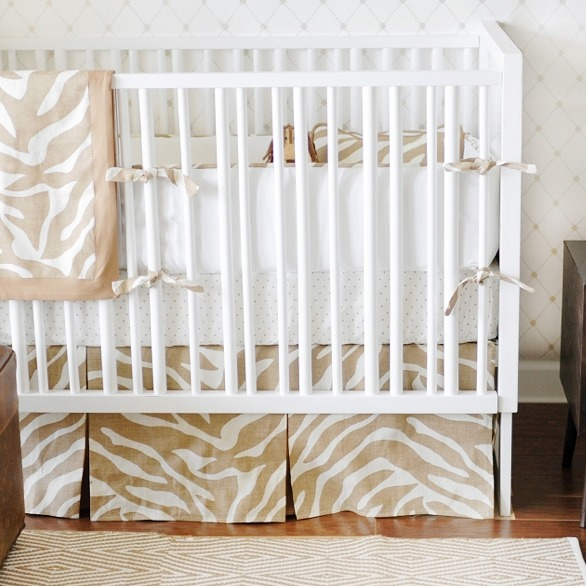 Safari in Sand Baby Bedding Two Piece Baby Bedding