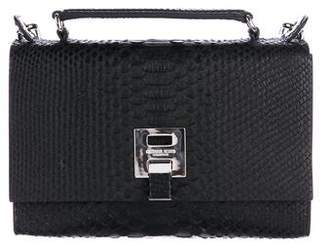 Michael Kors Bancroft Snakeskin Shoulder Bag