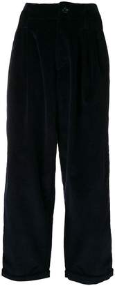 YMC corduroy wide leg trousers