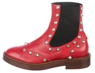 Balenciaga Arena Studded Chelsea Boots