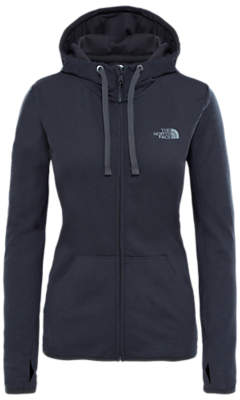 The North Face Fave Full Zip Hoodie, Grey