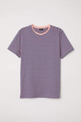 H&M Striped T-shirt - Orange