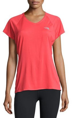 The North Face Better Than NakedTM Short-Sleeve Training T-Shirt, Melon Red/Moonlight $50 thestylecure.com