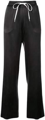 Amiri wide leg track pants