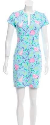 Manuel Canovas Printed Mini Dress