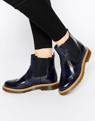 Bronx Brogue Chelsea Boots $88 thestylecure.com