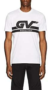 "Givenchy Men's ""World Tour"" Cotton T-Shirt - White"