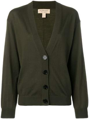 Burberry deep V-neck cardigan