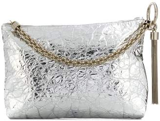 Jimmy Choo Callie metallic clutch