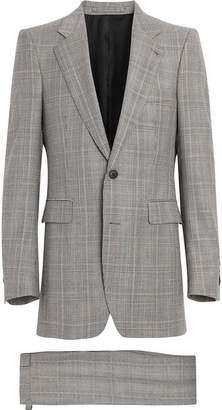 Burberry Slim Fit Prince of Wales Check Wool Cashmere Suit