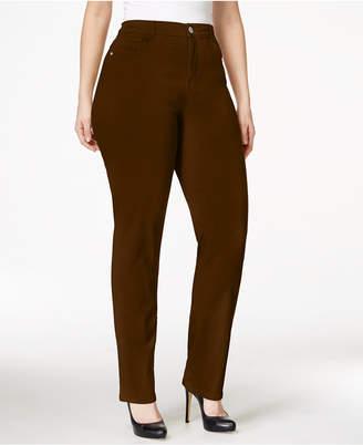 Style&Co. Style & Co Plus & Petite Plus Size Tummy-Control Slim-Leg Jeans