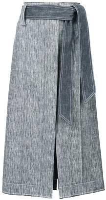 Derek Lam Belted Pencil Skirt