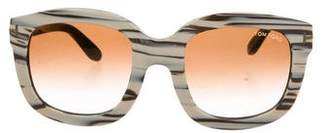 Tom Ford Christophe Gradient Sunglasses