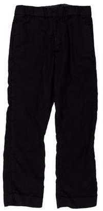 Acne Studios Rene Wool & Mohair Cropped Pants