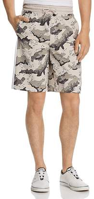 Puma Wild Pack AOP Camouflage-Print Drawstring Shorts