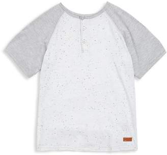 7 For All Mankind Little Boy's Speckled Tee