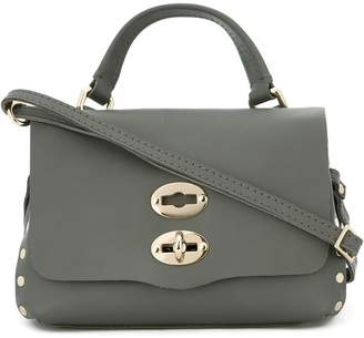 Zanellato flap closure cross body bag