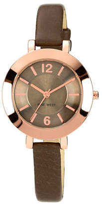 Nine West 1319RGGY Stainless Steel Watch