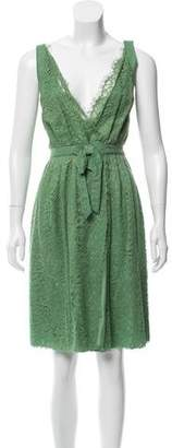 Nina Ricci Sleeveless Lace Dress