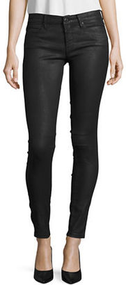Blank Nyc Skinny Coated Jeans $98 thestylecure.com