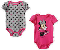 Disney Minnie Mouse Bodysuit Set for Baby - Pink
