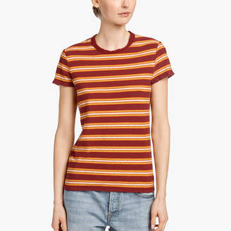 James Perse VINTAGE STRIPE TEE